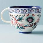 アンソロポロジー マグカップ ブルー 花柄 Anthropologie 並行輸入品