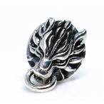 「silverKYASYA」シルバー925素材 ウルフピアス 925 ファイナルファンタジー ピアス FF クラウド 着用モデル シルバーピ