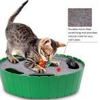 ショッピング猫 猫おもちゃ - Pawaboo 電動式 ネズミを捕らえる 隠す 追う 猫おもちゃ ネコ遊び 運動 ベット用 GREEN