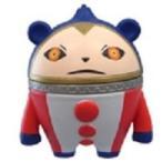 ゲームキャラクターズコレクション ミニ ペルソナ3&ペルソナ4 シャドウ クマ 単品