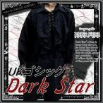 ゴシック ファッション ドレスシャツ メンズ 大きいサイズ 服 黒 LL〜4L相当 再入荷 /rfa076