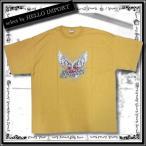 訳あり メンズ 半袖 Tシャツ アメカジ  大きいサイズ ハート 羽柄 まとめ割対象商品 / rfa087-2xl-2