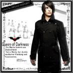 ショッピングトレンチコート トレンチコート スプリングコート メンズ ゴシック 服 大きいサイズ 黒 送料無料 /rfa200