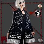 オカルトパンク マフラー 占星術柄 ファッション ユニセックス/rfo289