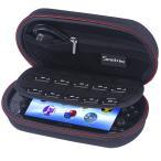 Smatree PS Vita(PS1000), PS Vita 2000、PSP3000とアクセサリー用 旅行やホームストレージケース P