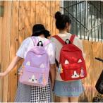 学生ママバッグ遠足リュックバッグレディース韓国風鞄中学生キャンバス高校生アウトドア登山リュックサック女の子シンプル通学ママリュック通勤