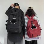 韓国風カジュアル男子女子男女兼用通勤レディースマザーズ通学リュックサックキャンバスリュックプレゼント鞄可愛い大容量リュックメンズバッグ