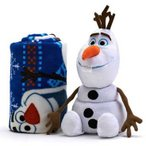 アナと雪の女王 ブランケット 毛布 グッズ ディズニー アナと雪の女王 オラフのやわらかブランケットと抱き枕セット グッズ 毛布