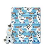 アナと雪の女王 ブランケット 毛布 グッズ ディズニー アナと雪の女王 オラフのやわらかブランケットとオラフの抱き枕 グッズ