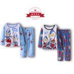 《送料無料》ウルトラマン 人気のパジャマ 上下セット 長袖&長ズポン 90-130cm 秋冬 綿100% 可愛い柔らかい 快適 肌触りがいい プレゼント ギフト