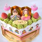 ひな祭り 限定 ・ ひなまつり アイスケーキ 和風 抹茶 ver (ひし形)