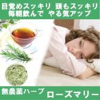 ハーブティー 無農薬 ローズマリー30g  やる気アップ ハーブティ 紅茶 茶葉   花粉  アレルギー 対策 不登校
