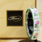 ブレスレット 磁器製アクセサリー ヘレンド ウィーンの薔薇 送料無料 ギフト包装無料 ハンドメイド
