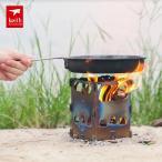 Keith チタン製焚き火台 薪グリル 折りたたみ BBQ バーベキュー キャンプ アウトドア
