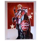 Nuka Cola ヌカコーラ ミニポスター アメリカ雑貨 インテリア雑貨 フォールアウト ゲーム キャラクター インテリア用品 50×40cm