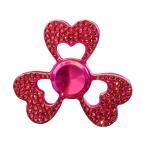 HANDSPINNERS DiamondSpinner(ダイヤモンドスピナー) ハンドスピナー ハートモデル ピンク<メーカー直送又はお取り寄せにつきキャンセル・返品・変更不可>
