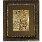 ユーパワー グスタフ クリムト アートフレーム 「抱擁」 GK-08515   キャンセル返品不可 他の商品と同梱・同時購入不可