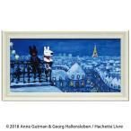 ユーパワー リサとガスパール ミュージアムフレーム Lワイド 「パリの天窓から」 GL-10055   キャンセル返品不可 他の商品と同梱・同時購入不可