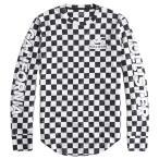 ショッピングホリスター 【並行輸入品】【メール便送料無料】ホリスター メンズ ロングTシャツ ( ロンT ) Hollister Checkerboard Graphic Tee (ブラック)
