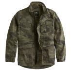 【並行輸入品】ホリスター メンズ ツイル ユーティリティ ジャケット Hollister Camo Twill Utility Jacket (カモフラージュ)