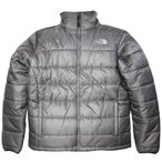 ノースフェイス 正規品(本物) メンズ 軽量ジャケット ( 中綿あり / ダウン含まず ) The North Face Mens Grampian Jacket (グレー)