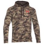 アンダーアーマー 正規品(本物) メンズ フリース パーカー ( プルオーバー ) Under Armour UA Rival Fleece Printed Hoodie (キャンバス)