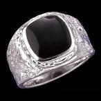 Yahoo Shopping - リング 指輪オニキススクエアカレッジリング指輪 B0531