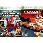 Marvel Ultimate Alliance & Forza Motorsport 2 - マーベル アルティメット アライアンス & フォルツァ モータースポーツ 2 (海外北米版 Xbox 360)