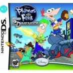 Phineas and Ferb: Across the 2nd Dimension - フィニアス アンド ファーブ アクロ スザ セカンド ディメンション (Nintendo DS 海外輸入北米版ゲームソフト)