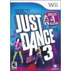 Just Dance 3 - ジャストダンス 3 (Wii 海外輸入北米版ゲームソフト)