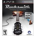 [メール便不可] Rocksmith Guitar and Bass - ロックスミス ギター アンド ベース (PS3 海外輸入北米版ゲームソフト)