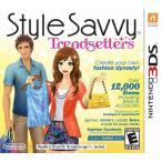 Style Savvy: Trendsetters - スタイルサビィ トレンドセッター (Nintendo 3DS 海外輸入北米版ゲームソフト)