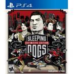 【取り寄せ】 Sleeping Dogs: Definitive Edition - スリーピングドッグス ディフィニィティブ エディション (PS4 海外輸入北米版ゲームソフト)