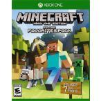 【取り寄せ】 Minecraft: Favorites Pack - マインクラフト フェイバリット パック (Xbox One 海外輸入北米版ゲームソフト)