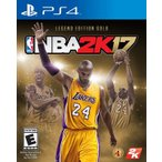【在庫有り】 NBA 2K17 Legends Gold - NBA 17 NBA 2K17 レジェンド ゴールド (PS4 海外輸入北米版ゲームソフト)