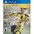 【取り寄せ】 FIFA 17 Deluxe Edition - フィファ 17 デラックス エディション (PS4 海外輸入北米版ゲームソフト)