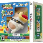 【取り寄せ】 Poochy & Yoshi's Woolly World + Yarn Poochy amiibo - ポチと!ヨッシー ウールワールド ポチ アミーボ (Nintendo 3DS 北米版ゲームソフト)
