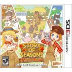 【取り寄せ】 Story of Seasons: Trio of Towns - 牧場物語 3つの里の大切な友だち (Nintendo 3DS 海外輸入北米版ゲームソフト)