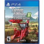 Yahoo!Hexagonny【取り寄せ】 Farming Simulator 17 Platinum Edition - ファーミング シュミレーター 17 プレミアム エディション (PS4 海外輸入北米版ゲームソフト)