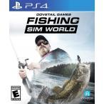 Yahoo!Hexagonny【取り寄せ】Fishing Sim World - フィッシング シム ワールド (PS4 海外輸入北米版ゲームソフト)