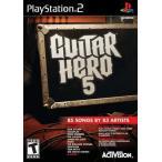 【訳あり商品】Guitar Hero 5 - ギターヒーロー 5 (PS2 海外輸入北米版ゲームソフト)