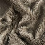Bianna Creations | フェイクファ- ファブリック ウルトラソフト デラックス プラッシュ シャギ- スクエア | クラフト、裁縫、小