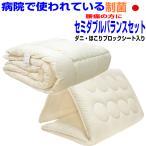 布団 腰痛 腰やさしい布団セット セミダブル ドクターEs-Oウォシュ疲労回復バランス硬質敷&掛け布団セットセミダブルサイズ