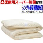 敷き布団 敷布団 シングル 熟睡敷ふとん 医療用寝具を家庭用に 宙に浮いているようなムアツしきふとん 制抗菌・アレルギー腰痛 防ダニEpR