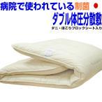 敷き布団 敷布団 ダブルサイズ ムアツ体圧分散敷ふとん ダブル 体が浮いているような日本製寝具 制抗菌アレルギー腰痛 しきふとんEs(WPR橙)