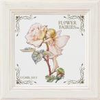 フラワーフェアリーズ ミニアートフレーム 「ローズ」 妖精 バラ イギリス 雑貨