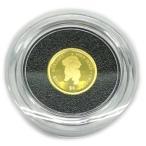 純金K24金プードル ドッグコイン1/30オンス(4$)2021年版金貨レザーケース入り裏面エリザベス女王英国王室造幣局(ロイヤルミント)製造 コインジュエリー