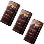 ショッピングメッセージカード無料 ゴディバ(GODIVA)パールダーク ×3個セット ネコポス便