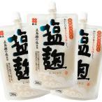 送料無料 塩麹 200g 3個セット 五島灘の塩使用 スパウトタイプ しおこうじ スパウト塩麹 新庄みそ