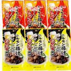 広島名産 ホルモン揚げ せんじ肉 にんにく風味とうがらし味 各3袋セット (1袋40g×6) 大黒屋食品